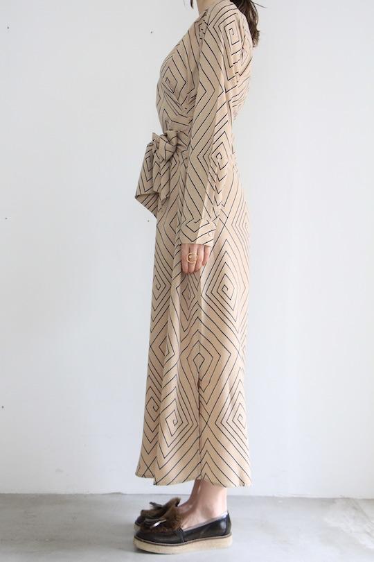 JUST geometric design dress