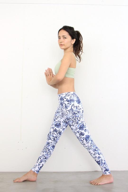 Linda Works yoga leggings pure soul