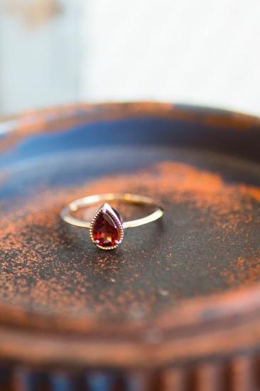 Enasoluna Fancy drop Ring