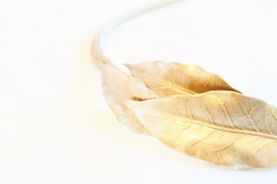 Les cerises de Mars leaf×chain head accesory