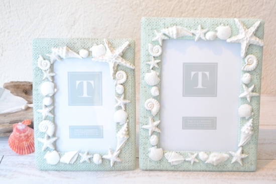 TWO'S Shell phote frame Midium