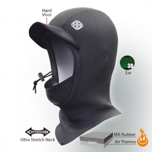 3mmAir-Thermo Hood(起毛)