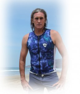 MENS Water Support VEST(CYBER製)