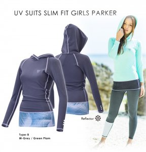 UV Suits Slim Fit Girls Parker