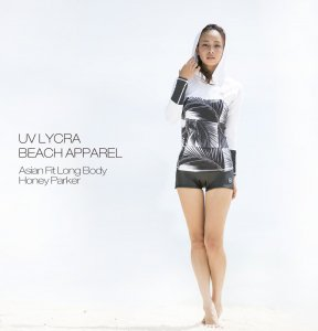 UV LYCRA BEACH APPAREL Honey Parker