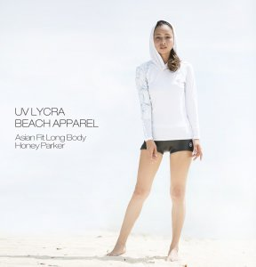 UV LYCRA BEACH APPAREL Lagoon Parker