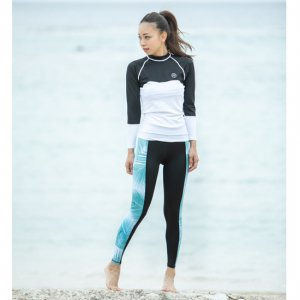 UV Lycra Skinny Pants GreenPalm