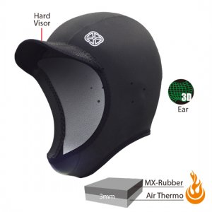 3mmAir-Thermo Cap(起毛)