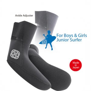 3mm Aero Capsuel Surf Socks for Junior