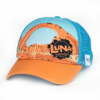 LUNA SANDALS RAINBOW BRIDGE TECHNICAL TRUCKER HAT
