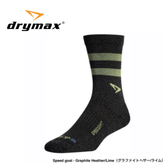 <img class='new_mark_img1' src='https://img.shop-pro.jp/img/new/icons1.gif' style='border:none;display:inline;margin:0px;padding:0px;width:auto;' />drymax LITE TRAIL RUNNING Crew SPEED GOAT(ドライマックス ライトトレイルラン クルー丈 スピードゴートモデル)