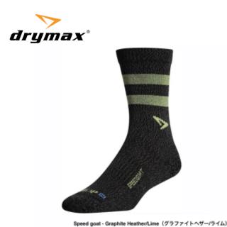 drymax LITE TRAIL RUNNING Crew SPEED GOAT(ドライマックス ライトトレイルラン クルー丈 スピードゴートモデル)