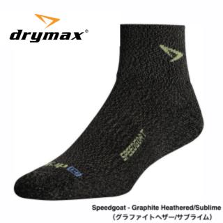 drymax Lite Trail Run 1/4 Crew SPEED GOAT(ドライマックス ライト・トレイルランニング 1/4クルー)