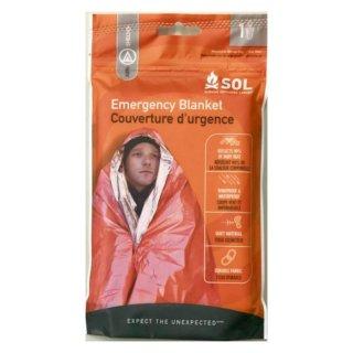 SOL Emergency Blanket (エスオーエル エマージェンシーブランケット 1人用)