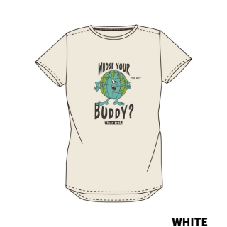 <img class='new_mark_img1' src='https://img.shop-pro.jp/img/new/icons1.gif' style='border:none;display:inline;margin:0px;padding:0px;width:auto;' />Teton Bros. WS TB Whose Your Buddy Tee(ティートンブロス フーズユアーバディーティ 女性用)