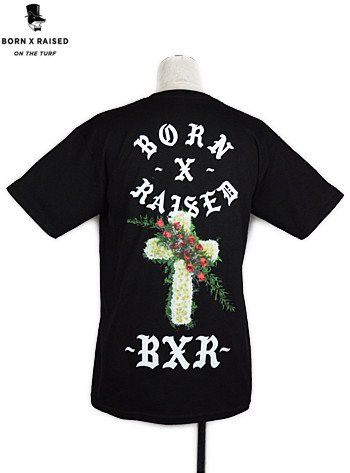 BORN × RAISD - GREY DAVIS (BLACK)