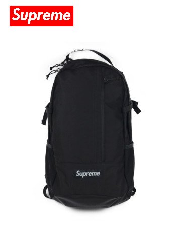SUPREME - BACKPACK (BLACK)