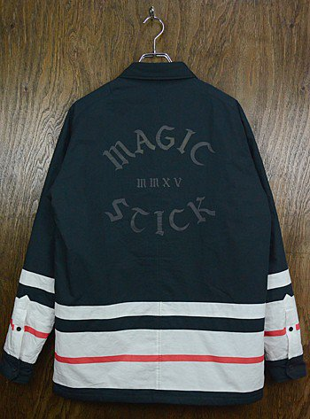 【中古】【ランクA】MAGIC STICK - COACH JACKET (BLACK)