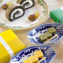 銀不老大福&銀不老ロールケーキ&しっとり生ようかん2種セット