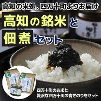 高知の銘米と佃煮セット【高知の米処、四万十町よりお届け】