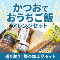 かつおでおうちご飯アレンジセット【選り取り!鰹の加工品セット】