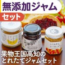 無添加ジャムセット【旬の果物を使った高知ならではのジャムセット】の商品画像