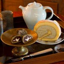 満天の星ほうじ茶スイーツセット/茶心