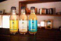 【有機栽培の生姜を使用】<br>土佐山ジンジャエールセット