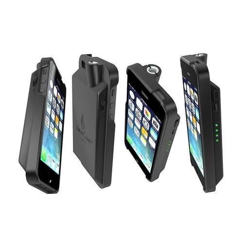 Vaporizer(ヴェポライザー) Vape Case iPhone 5 / 5s用 電子タバコ iPhoneケース型 +CE4✕3個セ…