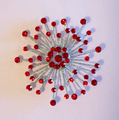 <img class='new_mark_img1' src='https://img.shop-pro.jp/img/new/icons52.gif' style='border:none;display:inline;margin:0px;padding:0px;width:auto;' />Los Flamingo The Atomic Starburst Brooch