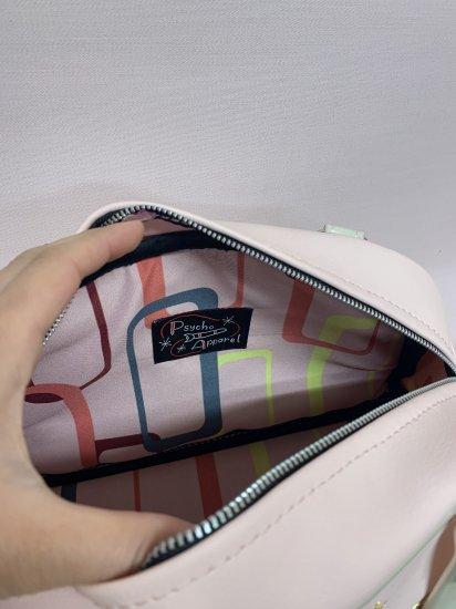 Psycho Apparel Kustom Bag -Pink Cadillac Hand Bag Type-