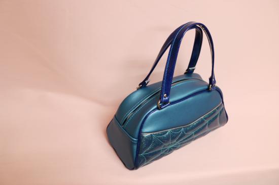 Psycho Apparel Kustom Bag - Blue Lagoon Spider Edition -