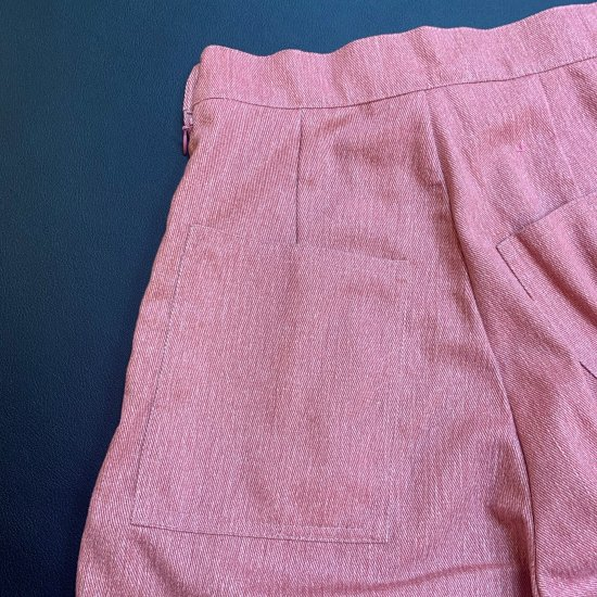 Psycho Apparel Wendy Denim Trousers in Pink