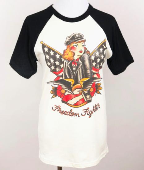 Mischief Made            Freedom fighter short sleeve T-shirt