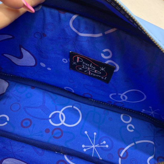 Psycho Apparel Kustom Bag Blue Magic Shoulder Type