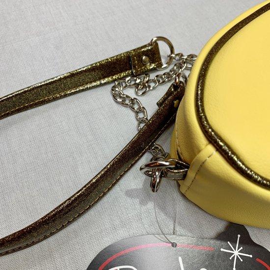 Psycho Apparel Kustom Bag Atomic Type in Yellow