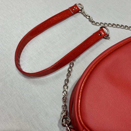 Psycho Apparel Kustom Bag Atomic Type in Red