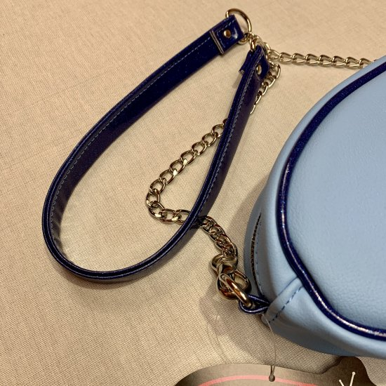 Psycho Apparel Kustom Bag Atomic Type in Blue