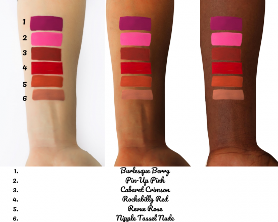 Tinsel Cosmetics BURLESQUE BERRY- HIGH PERFORMANCE MATTE LIQUID LIP