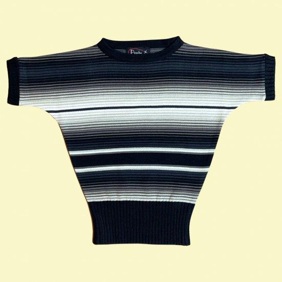 Psycho Apparel Linda Sarape Sweater in Black