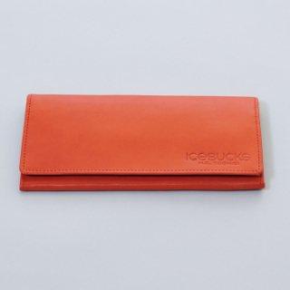 栃木レザー製 バックスロゴ押型入り 長財布