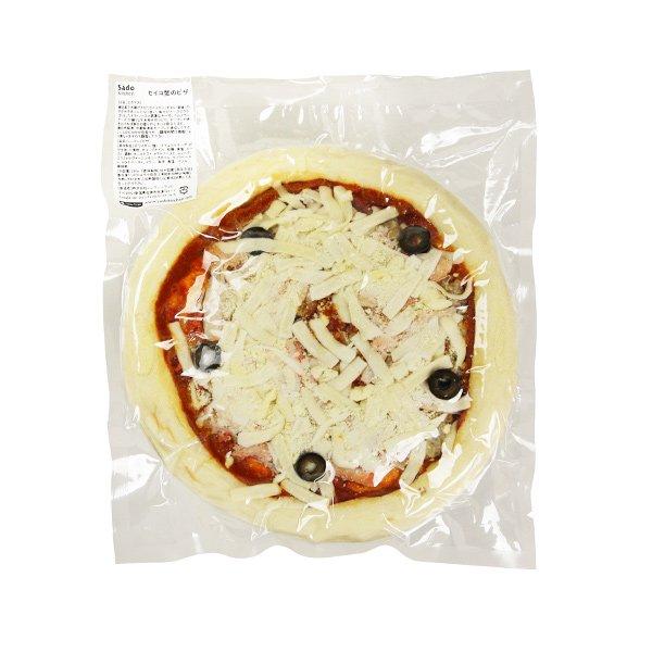 セイコ蟹ピザ