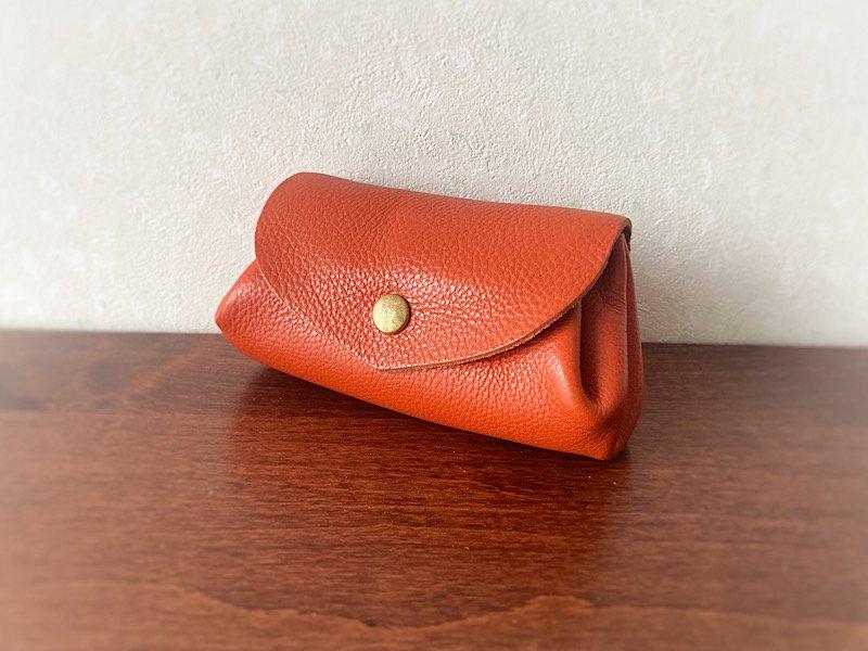 【受注製作(納期約2週間)】イタリアンレザー*コロコロ財布 「fave」M (アランチア)