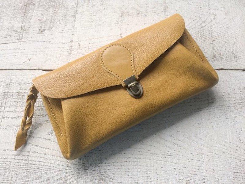 【受注製作(納期約2週間)】長財布 「series-envelope」ダンデライオン
