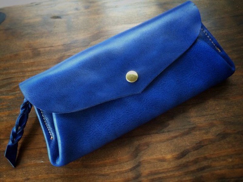 A Nさまオーダー*瑠璃色長財布