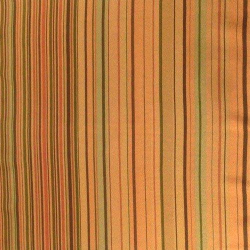 縞小紋_金茶