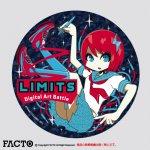 中尾 ヤスヒロ 缶バッジ M(44) ノーマル -LIMITS Osaka (2015)