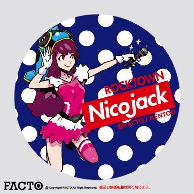 NicoJack 缶バッジ M(44) ノーマル