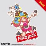 NicoJack ステッカー Lサイズ 弱粘着