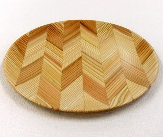 作品:木の皿